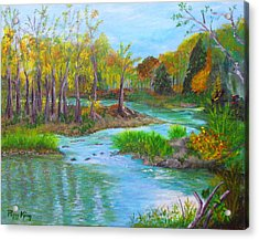 Ausable River Acrylic Print