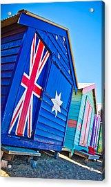 Aussie Beach Shack Acrylic Print