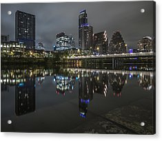 Austin As Gotham Acrylic Print