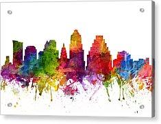 Austin Cityscape 06 Acrylic Print