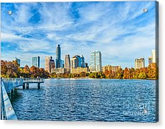 Austin Cityscape View Acrylic Print