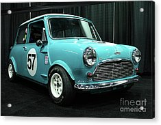 Austin Cooper Acrylic Print by Wingsdomain Art and Photography