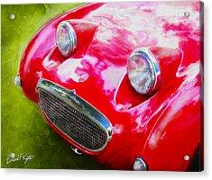 Austin Healey Bugeye Sprite Acrylic Print by David Kyte