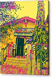 Austin Java Electric Acrylic Print