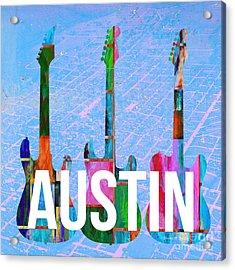 Austin Music Scene Acrylic Print