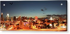 Austin Night Acrylic Print