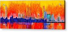 Austin Skyline 311 - Pa Acrylic Print