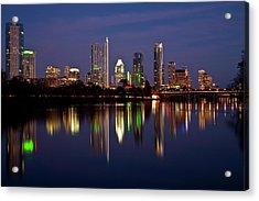 Austin Skyline Acrylic Print by Mark Weaver