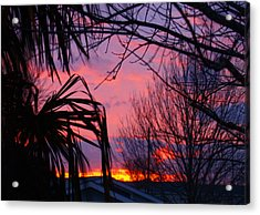 Austin Sunset I Acrylic Print