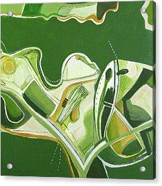 Australia Industrial Acrylic Print by Toni Silber-Delerive