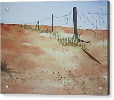 Australian Outback Track Acrylic Print