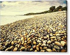 Australian Rocky Shoreline Acrylic Print