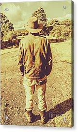 Australian Rural Life Acrylic Print by Jorgo Photography - Wall Art Gallery