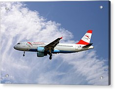 Austrian Airlines Airbus A320-214 Acrylic Print