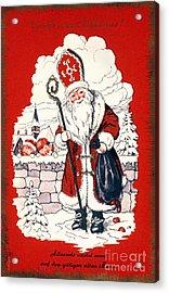 Austrian Christmas Card Acrylic Print by Granger