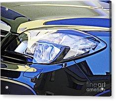 Auto Headlight 191 Acrylic Print by Sarah Loft