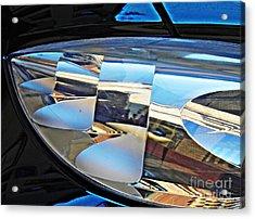 Auto Headlight 193 Acrylic Print by Sarah Loft