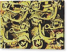 Automotive Pop Art Acrylic Print