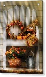 Autumn - Still Life - Symbols Of Autumn  Acrylic Print by Mike Savad