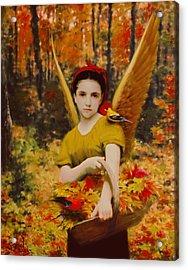 Autumn Angels Acrylic Print by Stephen Lucas