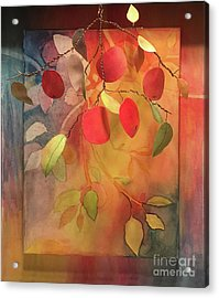 Autumn Apples 3d Acrylic Print