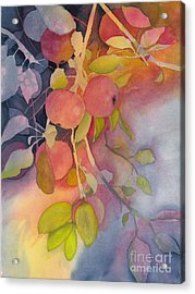 Autumn Apples Full Painting Acrylic Print