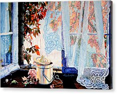 Autumn Aromas Acrylic Print by Hanne Lore Koehler