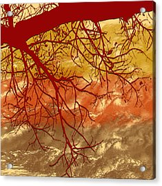Autumn Art Acrylic Print by Milena Ilieva
