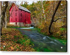 Autumn At Alley Spring Acrylic Print