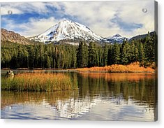 Acrylic Print featuring the photograph Autumn At Mount Lassen by James Eddy