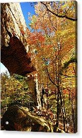 Autumn At Natural Bridge State Resort Acrylic Print