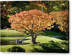 Autumn At Nikka Yuko Acrylic Print