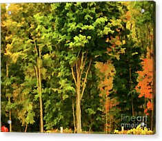 Autumn At Olana 1 Acrylic Print