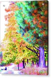 Autumn At Olana 4 Acrylic Print