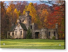 Autumn At Squire's Castle 1 Acrylic Print