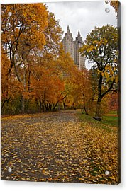 Autumn At The El Dorado Acrylic Print