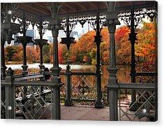 Autumn At The Ladies Pavilion Acrylic Print