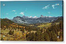 Autumn At The Weminuche Bells Acrylic Print