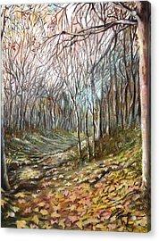 Autumn - Automne Acrylic Print