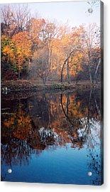 Autumn Banks Of The Brandywine Acrylic Print
