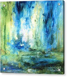 Spring Rain  Acrylic Print by Laurie Rohner