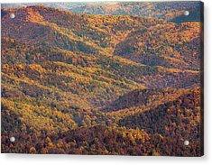 Autumn Blanket Acrylic Print