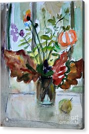 Autumn Bouquet Acrylic Print by Andrey Semionov