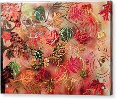 Autumn Breeze On The Edge Of Time Acrylic Print