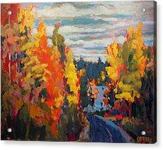 Autumn Acrylic Print by Brian Simons