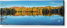 Autumn By The Lake Acrylic Print