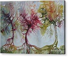 Autumn Colors Acrylic Print by Elena Oleniuc