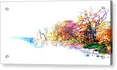 Autumn Colors Acrylic Print by Hannes Cmarits