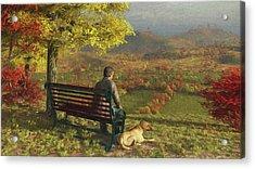 Autumn Companions Acrylic Print