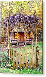 Autumn Cottage Acrylic Print